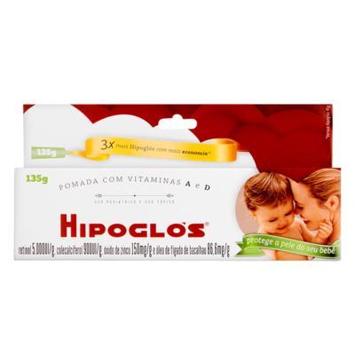 Imagem 4 do produto Hipoglós - 5000UI/g + 900UI/g + 150mg/g, caixa com 1 bisnaga com 135g de pomada de uso dermatológico -