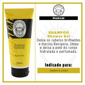 Giorno Black Oud - Shampoo Shower Gel