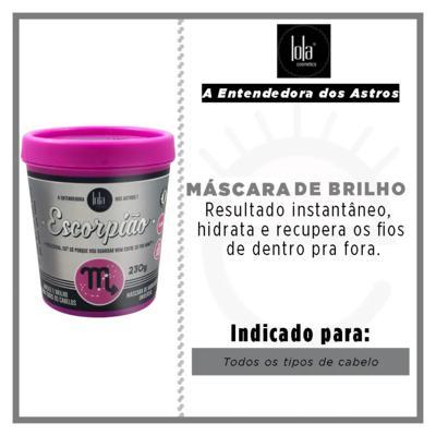 Imagem 2 do produto Lola Cosmetics A Entendedora dos Astros Escorpião - Máscara de Hidratação Universal - 230g