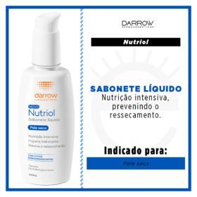 NUTRIOL SABONETE LIQUIDO HIDRATANTE PELE SECA 140 ML x 1