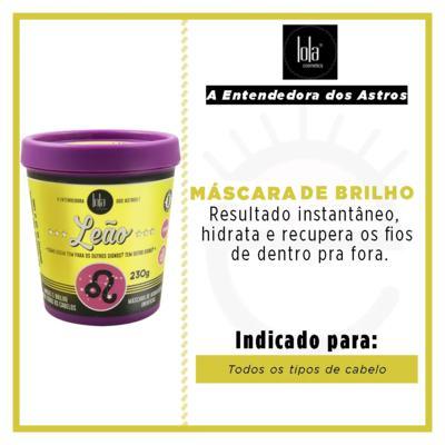 Imagem 2 do produto Lola Cosmetics A Entendedora dos Astros Leão  - Máscara de Hidratação Universal - 230g