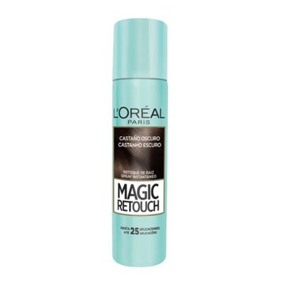 Imagem 5 do produto Corretivo  Instantâneo L'Oréal Paris - Magic Retouch - Castanho Escuro