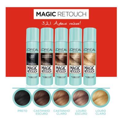 Imagem 9 do produto Corretivo  Instantâneo L'Oréal Paris - Magic Retouch - Castanho Escuro