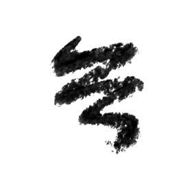 Lápis Kajal Carbon Black Vult Cor Preto 1,4g - Preto