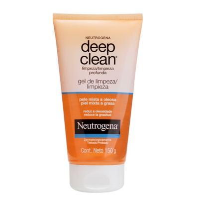Imagem 1 do produto Limpador Facial Neutrogena Deep Clean Gel de Limpeza - 150g