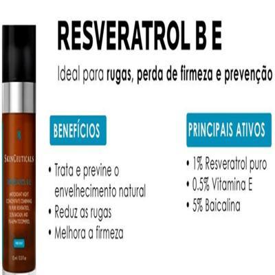 Imagem 12 do produto Resveratrol B E Antioxidante Night SkinCeuticals - Antienvelhecimento Noturno - 30ml