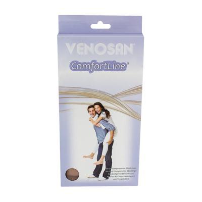 Imagem 1 do produto Meia Panturrilha AD 30-40 Comfortline Venosan - PONTEIRA ABERTA LONGA BEGE M
