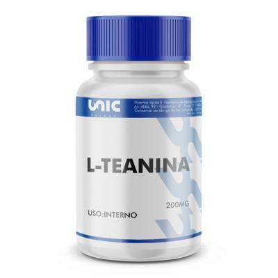 Imagem 2 do produto L-teanina 200mg - 90 Cápsulas