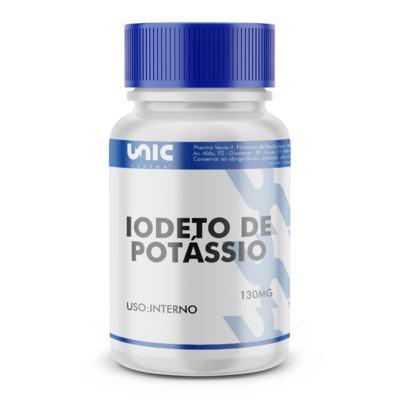 Imagem 2 do produto Iodeto de potássio 130mg - 60 Cápsulas