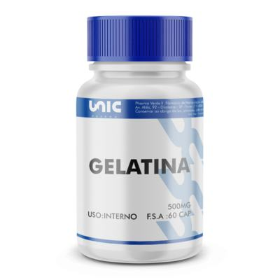Imagem 2 do produto Gelatina 500mg - 120 Cápsulas
