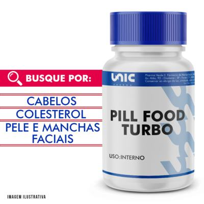 Imagem 1 do produto Pill food turbo - 90 Cápsulas
