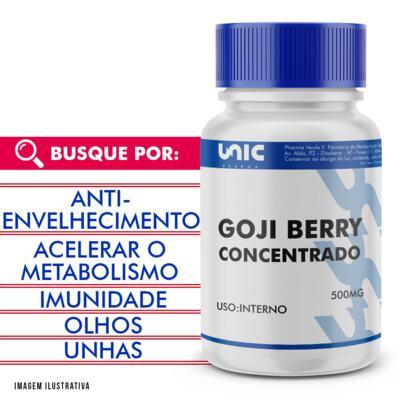 Imagem 1 do produto Goji berry 500mg concentrado - 90 Cápsulas