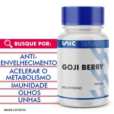 Imagem 1 do produto Goji berry 500mg - 120 Cápsulas