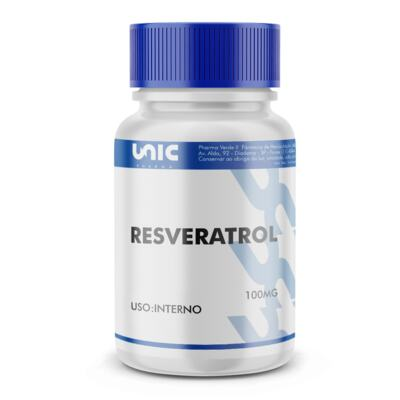 Imagem 2 do produto Resveratrol 100mg - 90 Cápsulas