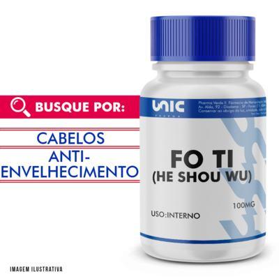 Imagem 1 do produto Fo Ti (he shou wu) 100mg - 120 Cápsulas