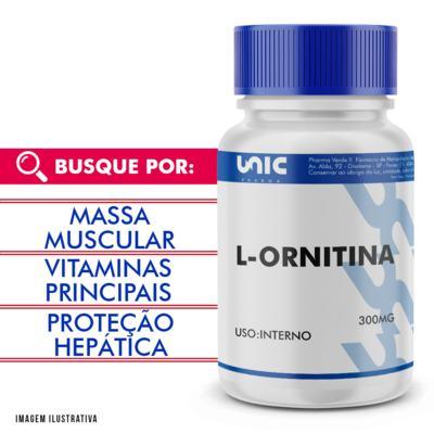 Imagem 1 do produto L-ornitina 300mg - 90 Cápsulas