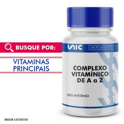 Imagem 1 do produto Complexo vitamínico de A a Z - 60 Cápsulas