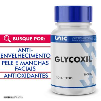 Imagem 1 do produto Cápsulas para Fumantes - Glycoxil 300mg com selo de autenticidade - 90 Cápsulas