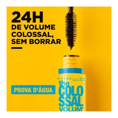 Imagem 4 do produto The Colossal Volum' Express Waterproof Maybelline - Máscara para Cílios - Preto