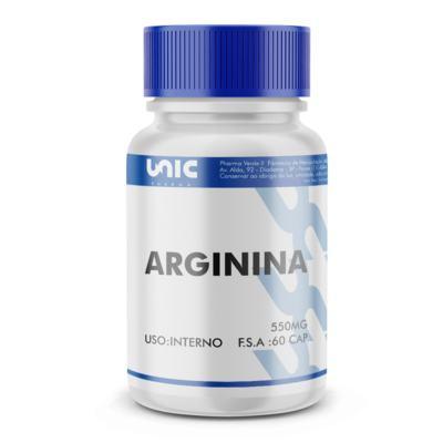 Imagem 2 do produto Arginina 550mg - 90 Cápsulas