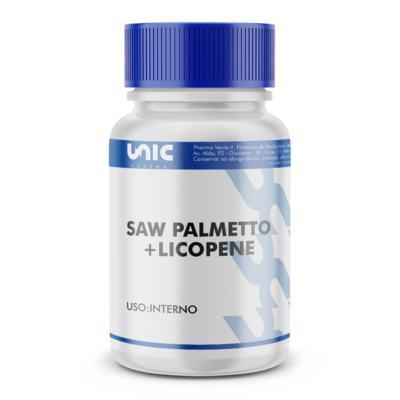 Imagem 2 do produto Saw Palmetto + licopene - 120 Cápsulas