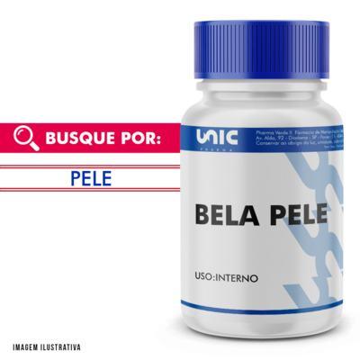 """Imagem 1 do produto Composto Anti Manchas Faciais """"Bela Pele"""" - 120 Cápsulas"""
