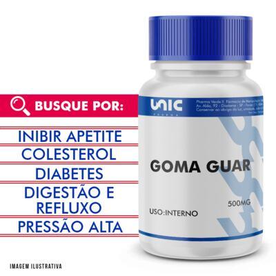 Imagem 1 do produto Goma Guar 500mg - 90 Cápsulas