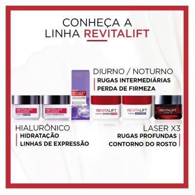 Imagem 13 do produto Creme Anti-Idade L'Oréal Paris Revitalift Laser X3 Diurno - 50ml