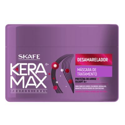 Keramax Desamarelador Skafe - Máscara de Tratamento