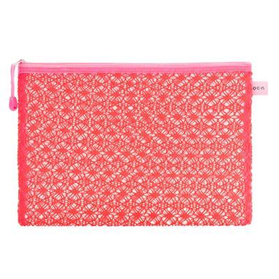 Nécessaire Océane - Lace Bag Pink G - 1 Un