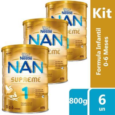 Imagem 12 do produto Formula Infantil Nan 1 - Supreme | 800g
