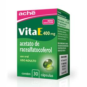 Vita E - 400mg | 30 cápsulas