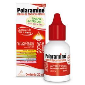 Polaramine Gotas - Sabor Frutas 2,8mg/ml | 20ml
