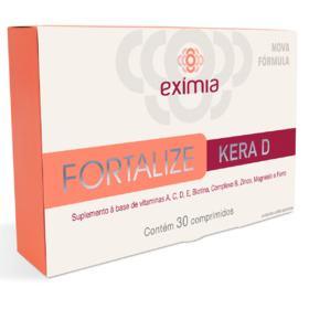 Exímia Fortalize Kera D - 30 Comprimidos