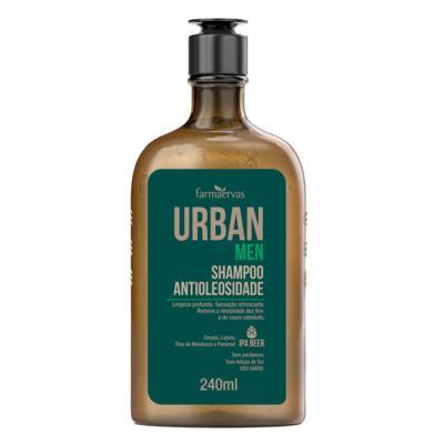 Shampoo Urban Men - Antioleosidade   240mL   1