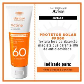 Fluido Solar Actine Toque Seco - Fps60 | 40g