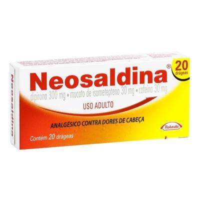 Imagem 3 do produto Neosaldina 20 comprimidos - 20 comprimidos