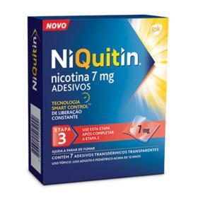 Niquitin - 7mg | 7 adesivos transdérmicos