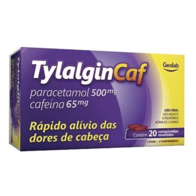 Tylalgin Caf - 500mg   20 comprimidos