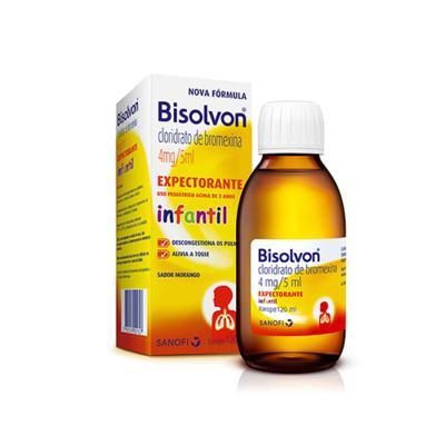 Bisolvon Xarope Expectorante Infantil - 0,8mg/ml   120ml