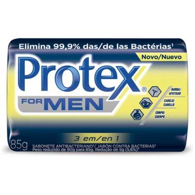 Sabonete em Barra Protex - Men 3 em 1   85g