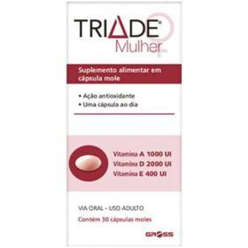 Triade Mulher - 30 cápsulas moles