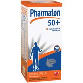 Pharmaton 50+ - 90 cápsulas