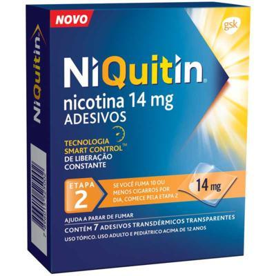 Niquitin - 14mg | 7 adesivos transdérmicos