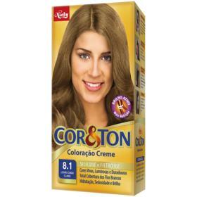 Kit Cor E Ton Creme - Louro Cinza 8.1 | 125g
