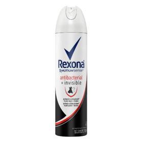 Desodorante Antitranspirante Rexona Women - Antibacterial + Invisible Aerosol | 150ml