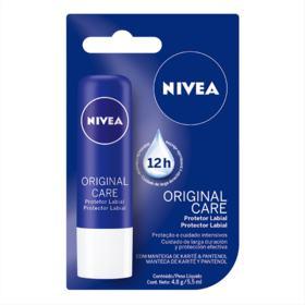 Protetor Solar Labial Nivea 4,8 g Lip Care Essencial
