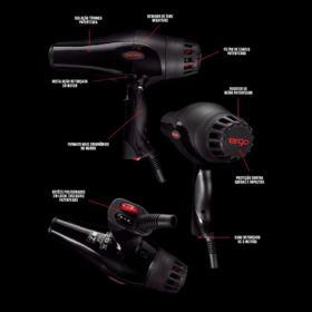 Secador Zhorn Ergo Fire X Lite - Preto 220v   2200w
