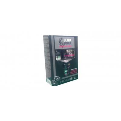 Kit Hidrabell - Ultra Force | Shampoo 500ml + Cond 400ml + Ampola 40g