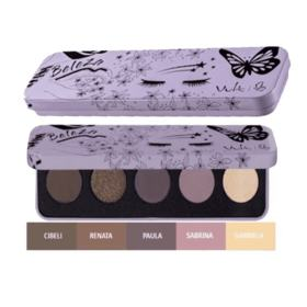 Kit Vult Paleta de Sombra - Beleza | 5 Cores